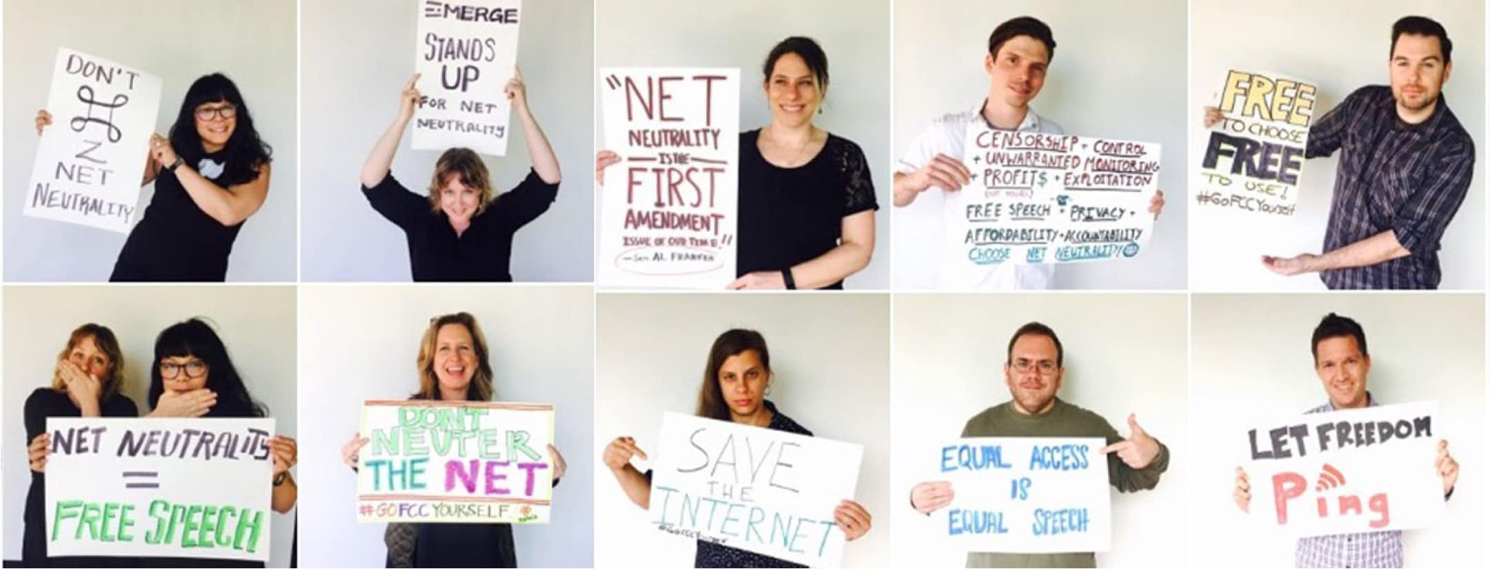 Emerge Stands Up for Net Neutrality