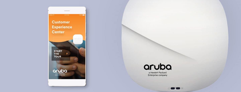 Aruba Customer Experience Center App