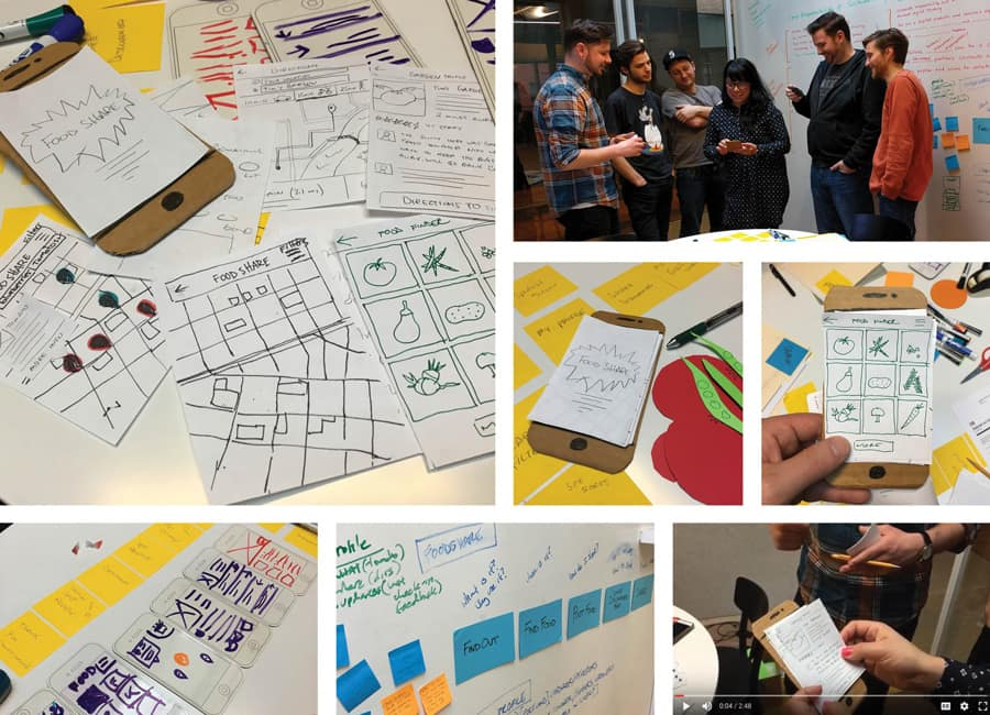 Human Centered Design Workshop Photos - Emerge Interactive