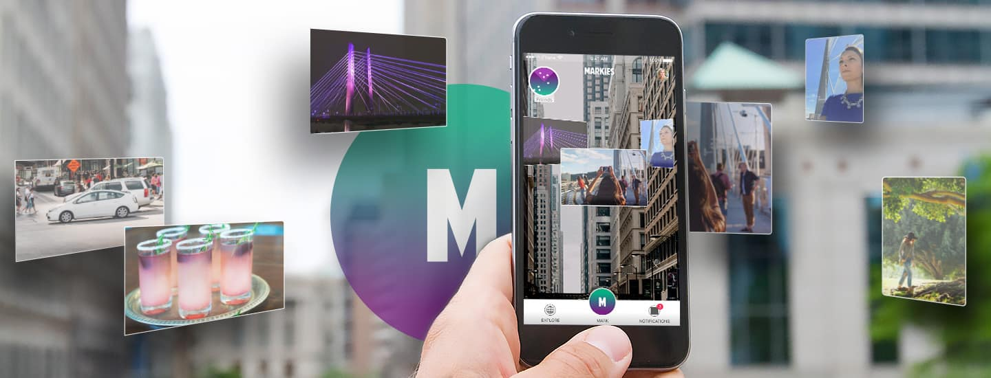 Augmented Reality Social Network