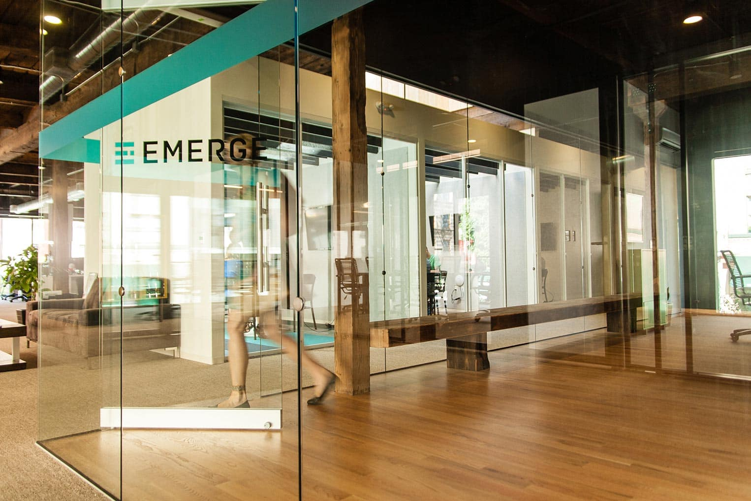 Emerge Interactive office space, Portland, OR