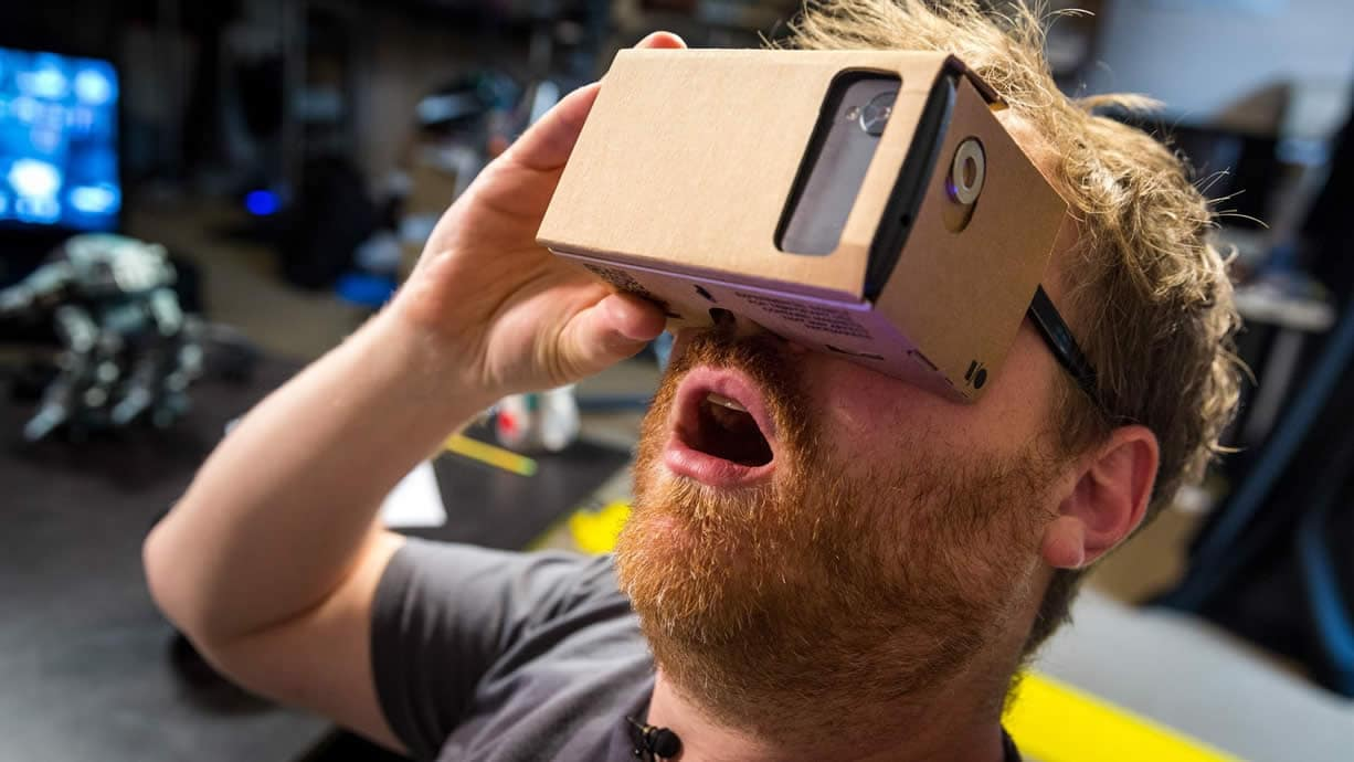 Google Cardboard (image credit: Tested)