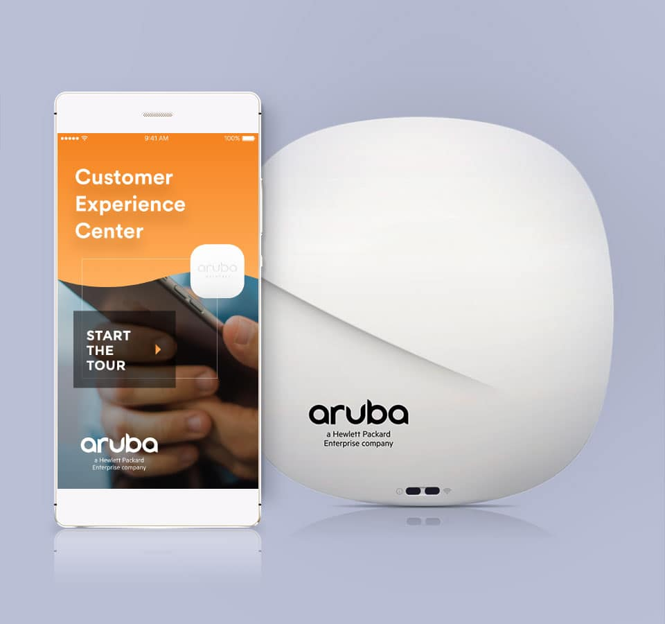 Aruba Customer Experience Center App