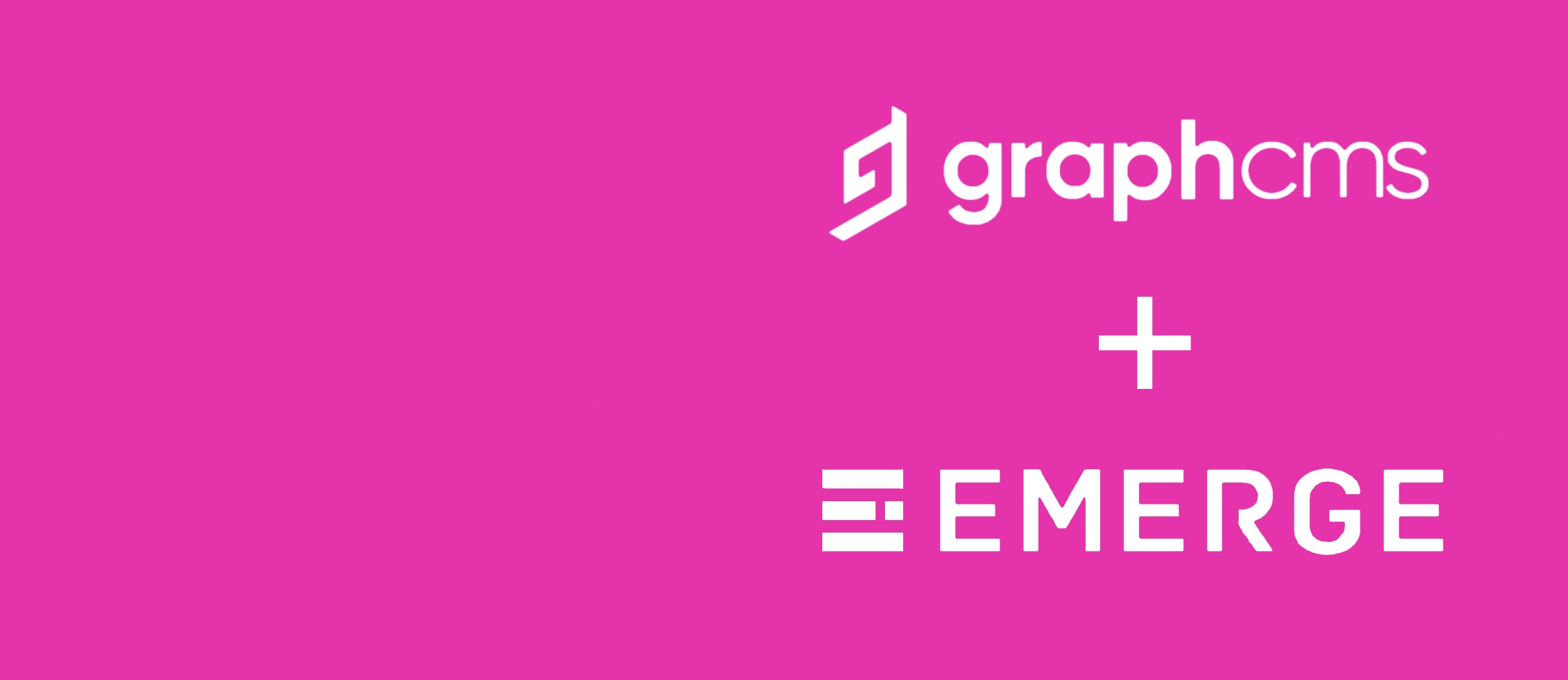 Emerge Joins GraphCMS Partner Network